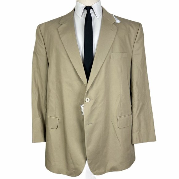 Jos. A. Bank Other - NEW Jos A Bank Spring Weight Sport Coat 52R Beige